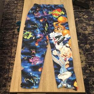 Space Jam pajama pants. Large. Worn once.